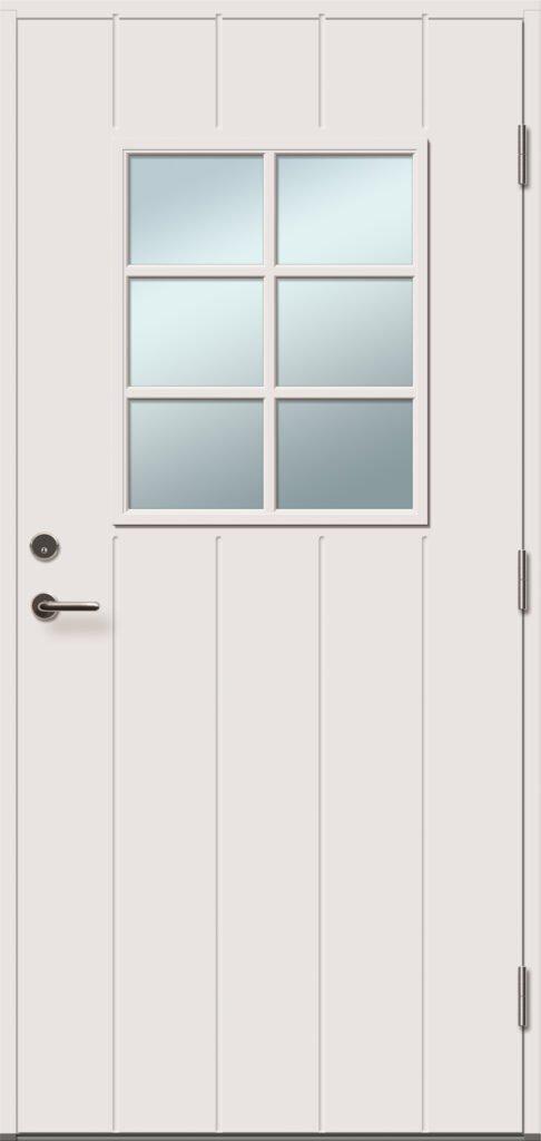 viljandi aken ja uks klaasiga välisuks alexia 6 r