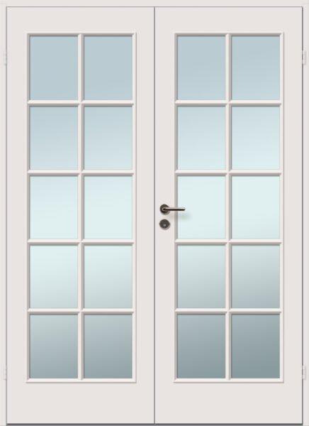 viljandi aken ja uks kahepoolne klaasidega sile siseuks 10r+10r