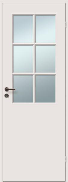 viljandi aken ja uks sile klaasiga siseuks 6R