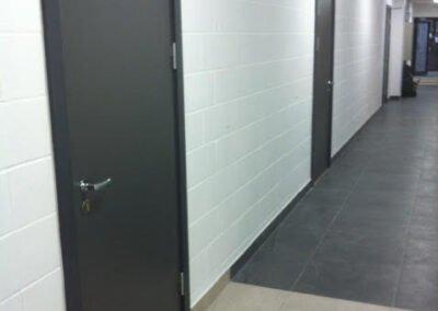 Tulekindel uks