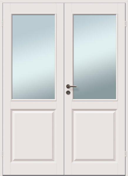 vlijandi aken ja uks klaasiga kahepoolne profiiliga siseuks caspian 1r 1r