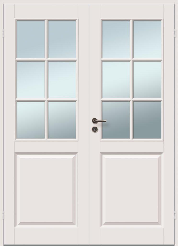 viljandi aken ja uks klaasiga kahepoolne profiiliga siseuks caspian 6r 6r