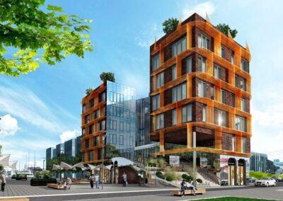 Korter-ja ärimaja Poordi 1 Tallinnas siseuksed